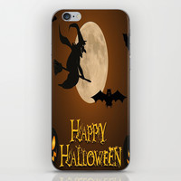 HAPPY HALLOWEEN iPhone & iPod Skin by Acus