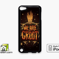 Guardian Of The Galaxy I Am Groot iPod Touch 5th Case Cover by Avallen