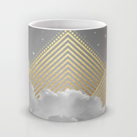 Silence is the Golden Mountain (Stay Gold) Mug by Soaring Anchor Designs