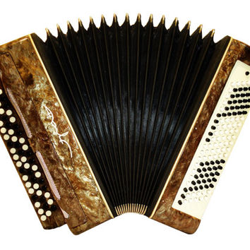 Russian Era-74, 120 Bass, Button Bayan, Accordion Instrument, 471
