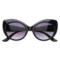 Retro Womens Fashion Cat Eye Sunglasses 8298