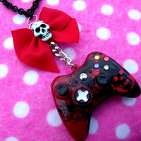 CUSTOM ORDER - Gears of War Xbox Controller Necklace