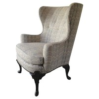 """Pre-owned Victorian Wingback """"Grantham"""" Chair"""