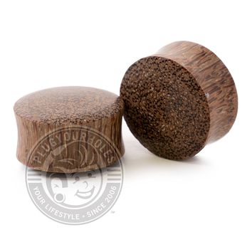 Palm Wood Plugs
