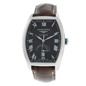Longines Evidenza swiss-automatic mens Watch L26724514 (Certified Pre-owned)