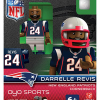OYO NFL Generation 2 Limited Edition Minifigure New England Patriots - Darrelle Revis