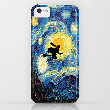 Harry potter painting iPhone 4 4s 5 5c, ipod, ipad, pillow case, tshirt and mugs iPhone & iPod Case by Three Second