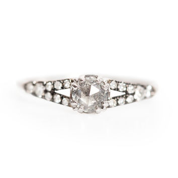Devotion Solitaire Ring - Wedding & Engagement - Catbird