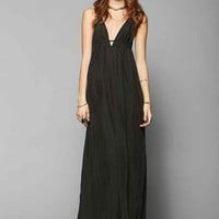 Silence + Noise Triangle-Top Maxi Slip Dress-