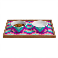 Jacqueline Maldonado Chevron Sweet Pet Bowl and Tray