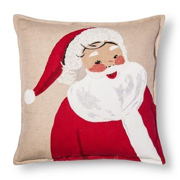Ruby Ring Ruby Ring Santa Throw Pillow - Threshold™