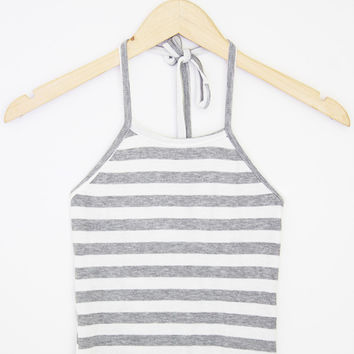 Bold Stripe Halter (More Colors)
