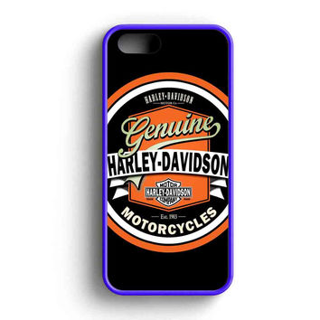Harley Davidson Vintage  iPhone 5 Case iPhone 5s Case iPhone 5c Case