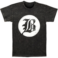 Beartooth Men's  B Logo T-shirt Black