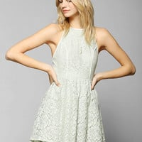 Pins And Needles Lacey Open-Back Dress - Urban Outfitters