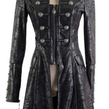Jacket Harbinger of Death - Gothic, industrial, steam punk coats