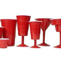 Red Cup Living Disposable Stemware Partyware