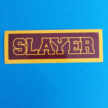 Sunnydale Slayer Vinyl Sticker - Buffy the Vampire Slayer