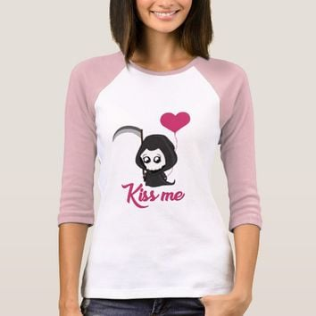 Cute Grim Reaper T-Shirt