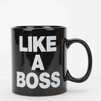 Like A Boss Mug- Black One