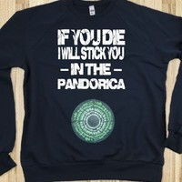 If you die I will stick you in the pandorica