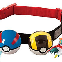Pokémon Clip 'N' Carry Poké Ball Belt, Styles May Vary