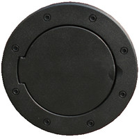 All Things Jeep - Gas Cap, Non-Locking, Jeep Wrangler JK (2007-2015), Black, Rugged Ridge