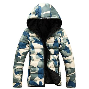 2017 Men's Jacket Spring And Autumn Warm Camouflage Jacket Men Overcoat Men's College Coat Jacket Men Casual Jackets Adult