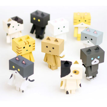 Nyanboard Figure Collection : Case of 10 by Sen-ti-nel | myplasticheart