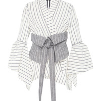 Sparrow Obi Belt Set Jacket | Moda Operandi