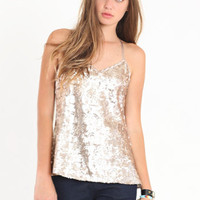Sparkle and Shine Sequin Tank