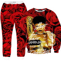 Rihanna Unapologetic Rose Tracksuit