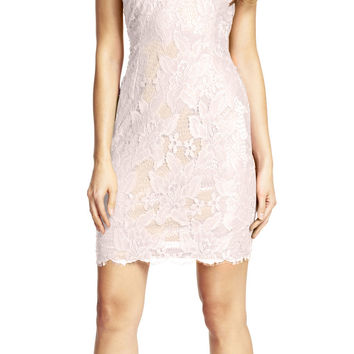 Sleeveless Lace Cocktail Dress - Adrianna Papell