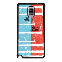 Silent in the Trees twenty one pilots for samsung galaxy note 4 case