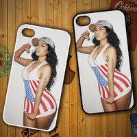 nicki minaj 2015 X0689 LG G2 G3, Nexus 4 5, Xperia Z2, iPhone 4S 5S 5C 6 6 Plus, iPod 4 5 Case