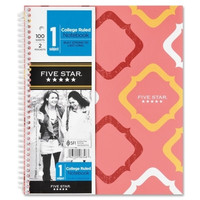 "mead notebook, 1 sub, college ruled, 100 shts, 9-3/4""x11"", multi Case of 4"