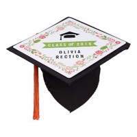Gifts For All Occasions: Floral border Class of 2016 graduation Tassel Topper