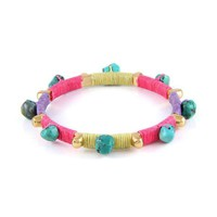 Color Patch Bangle in Cactus Flower