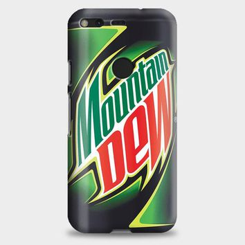 Funny Mountain Dew Google Pixel Case