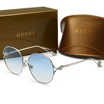 GUCCI Fashionable Woman Men Chic Summer Sun Shades Eyeglasses Glasses Sunglasses