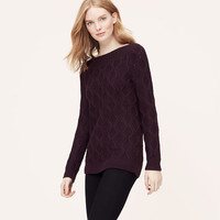 Ballet Boatneck Sweater