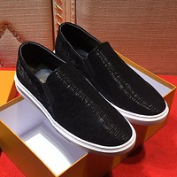 Boys & Men Louis Vuitton Fashion Casual Flats Shoes