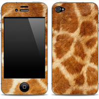 Real Giraffe iPhone 4/4s Skin FREE SHIPPING