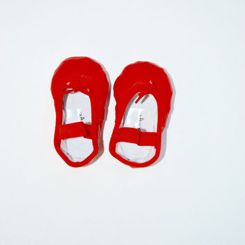 Red Baby Ballet Flats