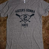 "VICT DJ ""Haters Gonna Hate"" T-Shirt"
