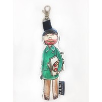 Mini Van Gogh Doll Bag Charm