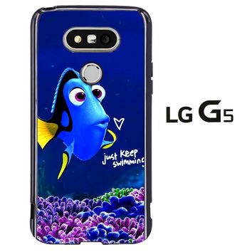 Just Keep Swimming Dory LG G5 Case