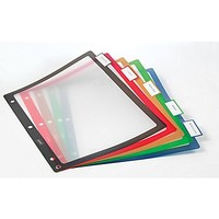 Staples® Better® Fixed Tab Dividers, 8-Tab, Mulitcolor, 1 set\/pack | Staples®