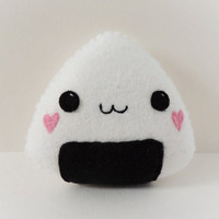 Felt Kawaii Sushi Rice Plush