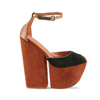 Jeffrey Campbell 4 Evz Platform in Two Tone